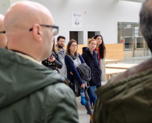 No espazo incubadora de emprendemento da Oliva Creative Factory, en São João da Madeira