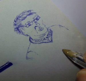 debuxo-post Pau Rausell