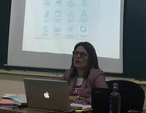 Ania González no CEUXC
