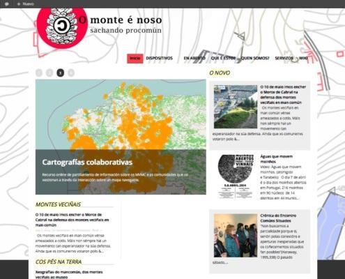 Captura da web Montenoso